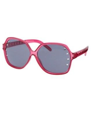 Gymboree Floral Mermaid Hot Pink Gem Studded Oversize Sunglasses 4 5 6 7 8  Nwt