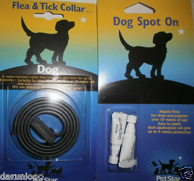 Pet Dog  Puppy  Flea Tick Collar Lasts Up To 4 Months Stretch Design