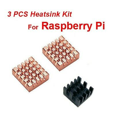 Brand New 3pcs Heatsink Kit for Raspberry Pi