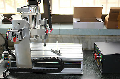 4 Axis CNC 3020 ROUTER ENGRAVER DRILLING DRLLING MACHINE RS232 PC control