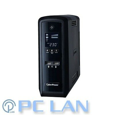 CyberPower BFC Sinewave 1500VA / 900W  Tower UPS with LCD Display CP1500EPFCLCD