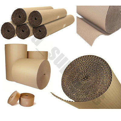 CORRUGATED CARDBOARD ROLLS~Paper Roll Strong Packaging Packing Posting Card Pack