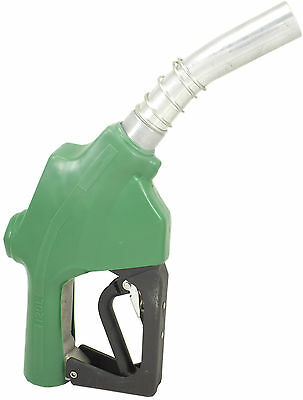 "ZL-120L Green Stainless 1"" 1-3/16"" Automatic Fueling Nozzle Gas Diesel Biodiesel"