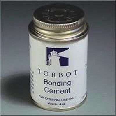 TORBOT GROUP OSTOMY SKIN BONDING ADHESIVE CEMENT GLUE 4oz BRUSH TOP CAN