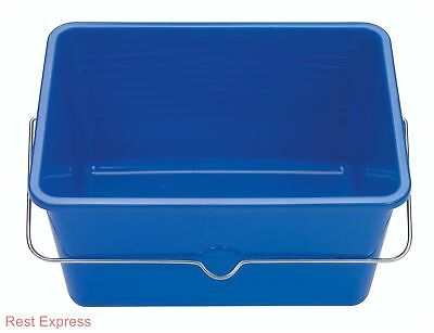 Mako Heavy Duty Decorators Plastic Paint Scuttle Bucket for Rollers *ALL SIZES*
