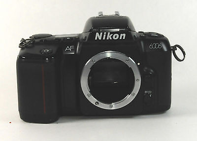 Nikon N6006 35mm SLR Film Camera Body Only Excellent Condition