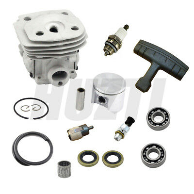Husqvarna 359 357 357Xp 47Mm Cylinder Piston With Ring Pin Bearing Oil Seal New