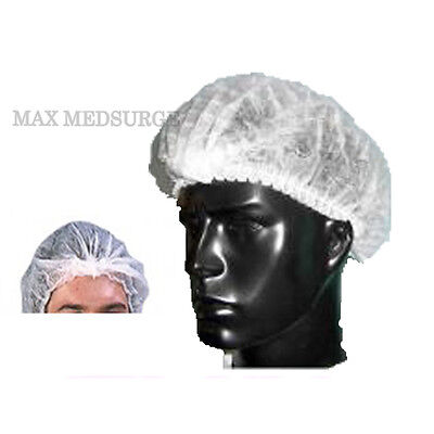 30x Disposable MOB CAP, Medical Grade, Hair Head Cover Net, Food, Fake Tan Salon