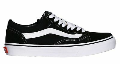 Vans Skaterschuh Classic Old Skool Black White D3HY28