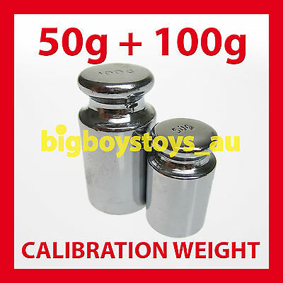 CALIBRATION WEIGHT SET 100g + 50g  WEIGHTS 4 DIGITAL SCALES * GREAT QUALITY