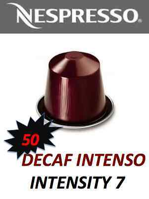 STOCKUP SPECIAL!! 50 Decaf Intenso Nespresso Capsule *BNIB* WHILE STOCK LAST!!