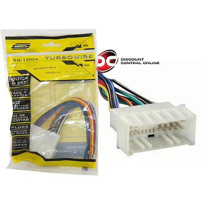 Metra 70 1004 Wiring Harness For Select 2005 Up Kia metra 70 7903 wiring harness for 2001 up mazda protege \u2022 $7 00 metra 70-7903 wiring harness at pacquiaovsvargaslive.co