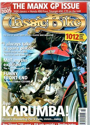 Classic Bike Magazine - October 2005