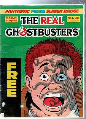 Marvel The Real GHOSTBUSTERS Comic - 1 April 1989, No.42