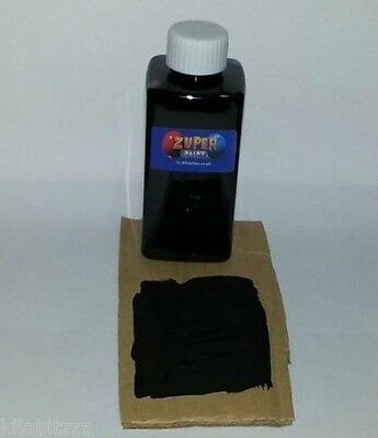 150ml Matt Black paint use with Fluorescent UV Blacklight or Glow In The Dark