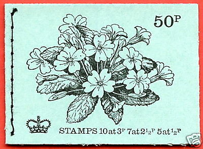 DT2 1971 May 50p Stitched Booklet