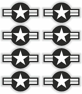 1x STICKER AIR FORCE STAR decal US UNITED STATES