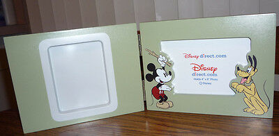 Mickey and Pluto Hinged Pet Frame – Brand New