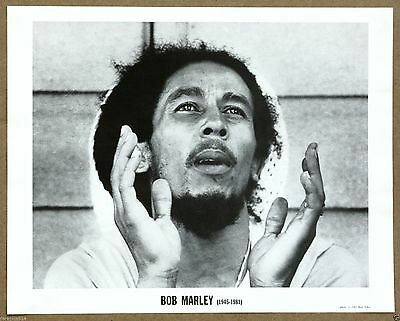 Bob Marley Original Rare Limited Edition Photo Print by Dan Asher from 1981