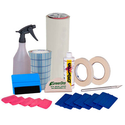 Vinyl Cutting Weeding & Application Tools Starter Kit Bundle for Signs, UScutter