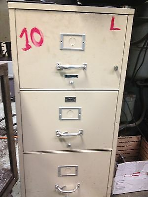 Fire Proof File Safe Cabinet Laboratory Inspected File Hour Exp.