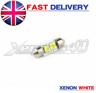1x VW Transporter 1.9 T4 MK IV 4 Glove Box Xenon White LED Light Bulb UpgradeKit