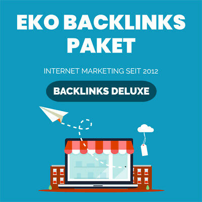 Backlinks Paket EKO - HIGH PR, EDU, Social Bookmarks, SEO Linkaufbau