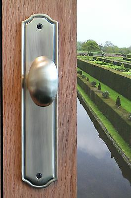 Privacy Door Egg Knobs Privacy Door Hardware Westbury in Polished Chrome Finish