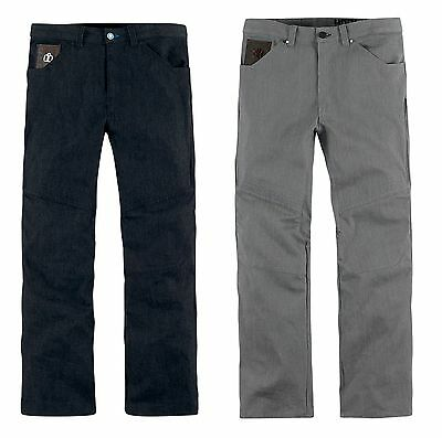 Icon Hooligan Denim Motorcycle Riding Pants Relaxed Fit