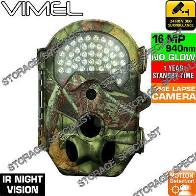 Trail Camera Wireless Farm Security Cam Waterproof Night Vision Motion Detection