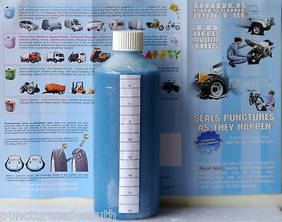Puncturesafe Tyre Sealant Puncture Preventative Kit 500ml, Motorcycle & Scooter