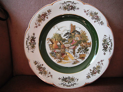 Ascot Service Plate by Wood and Sons England alpine white iornstone