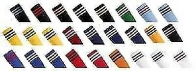 Football Rugby Hockey Soccer Socks 3 Stripe Sizes 12-2
