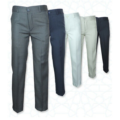 Kilinch Uk Boys Formal Trousers For Suits Wedding Prom Communion 6M To 16Yrs