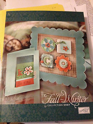Stampin Up! Catalog 2007 Fall-Winter Collection