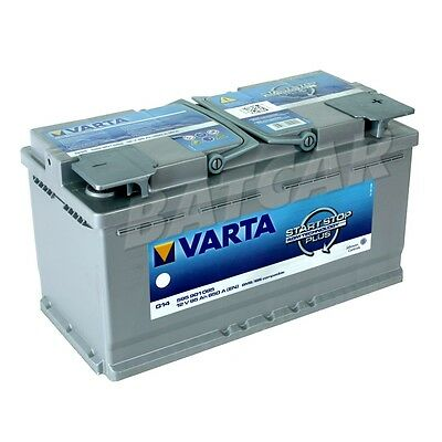 varta agm batterie auto batterie 12v 105ah 950a ersetzt. Black Bedroom Furniture Sets. Home Design Ideas
