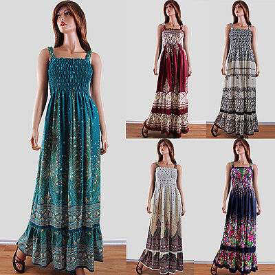 NEW PLUS SIZE Maxi Dress 1X 2X 3X Floral Paisley Feather Casual ...