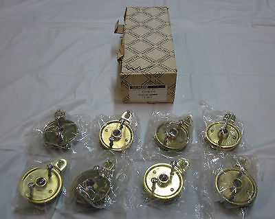 Baldwin 5075-030 Adaptor Set 8/box POLISHED BRASS BRAND NEW in box!!