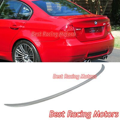 M3 Style Rear Trunk Lip Spoiler Fits 05-11 BMW E90 4dr 3-Series