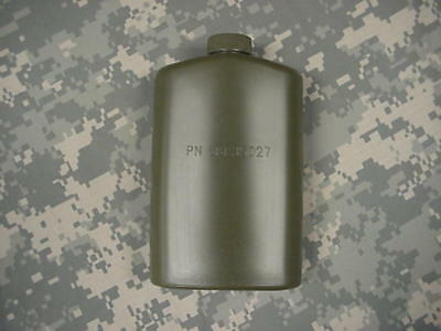 Us Military Plastic 1 Pt Pilot Flask / Canteen Od Green