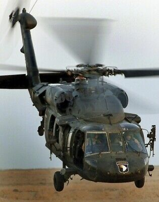 US Army (USA) UH-60 Blackhawk (Black Hawk) helicopter 8X12 PHOTOGRAPH
