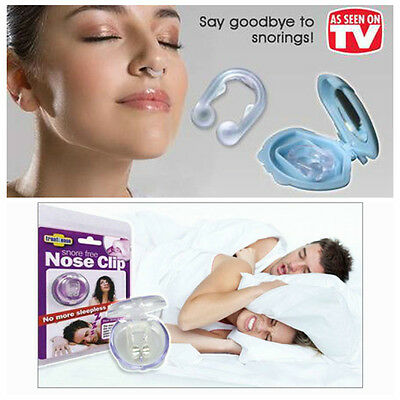 Anti Stop Snoring Snore Sleep Device Magnetic Silicone Sleep Aid Care Nose Clip