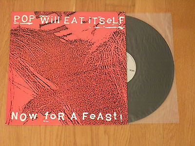 Pop Will Eat Itself – Now For A Feast! LP GREEK PRESSING PENGUIN 1989