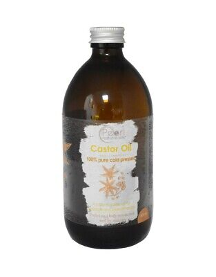 Castor Oil - 500Ml 100% Pure, Cold Pressed