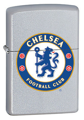 Zippo Lighter Official Chelsea Football Club Crest Personalised Engraved Free