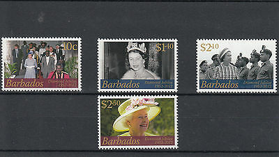 Barbados 2012 MNH Diamond Jubilee SG#1383-6 Queen Elizabeth Parliament Assembly