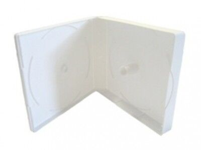 (SAMPLE) - 1 White Color CD/DVD Box up to 16 Discs