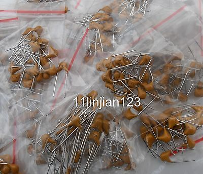 600pcs 30value Multilayer Ceramic Capacitor Assorted Kit Assortment Set
