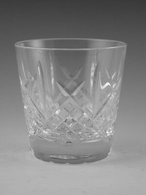 Royal DOULTON Crystal - JULIA Cut - Tumbler Glass / Glasses - 3""