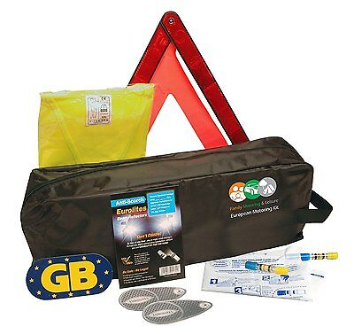 Euro Europe Motoring Kit  For European Travel French Abroad Essentials